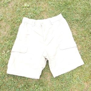 The North Face Mens Nylon Cargo Shorts Medium